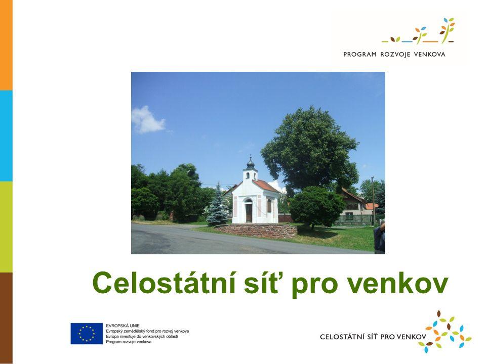 Celostátní síť pro venkov Děkuji za pozornost Kontakty: Ing.