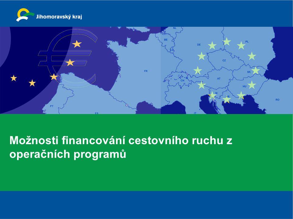 Možnosti financování cestovního ruchu z operačních programů