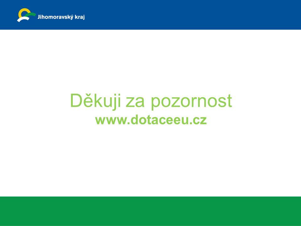 Děkuji za pozornost www.dotaceeu.cz