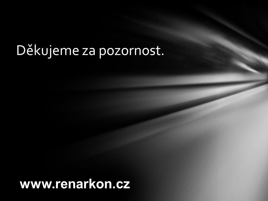 Děkujeme za pozornost. www.renarkon.cz