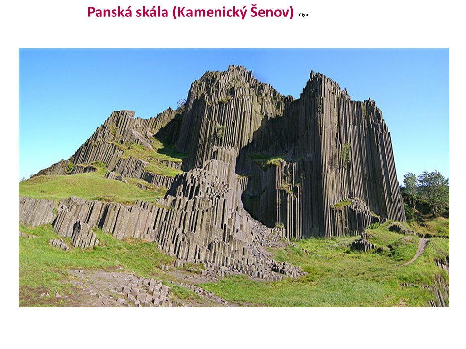 Panská skála (Kamenický Šenov)