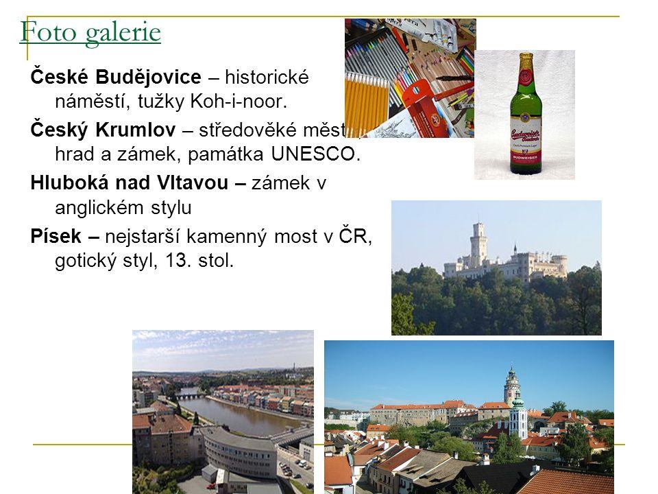 Foto galerie České Budějovice – historické náměstí, tužky Koh-i-noor.