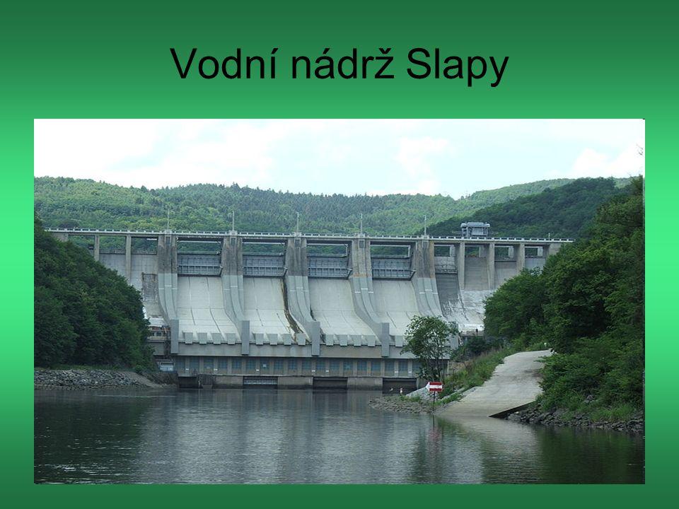 Vodní nádrž Slapy