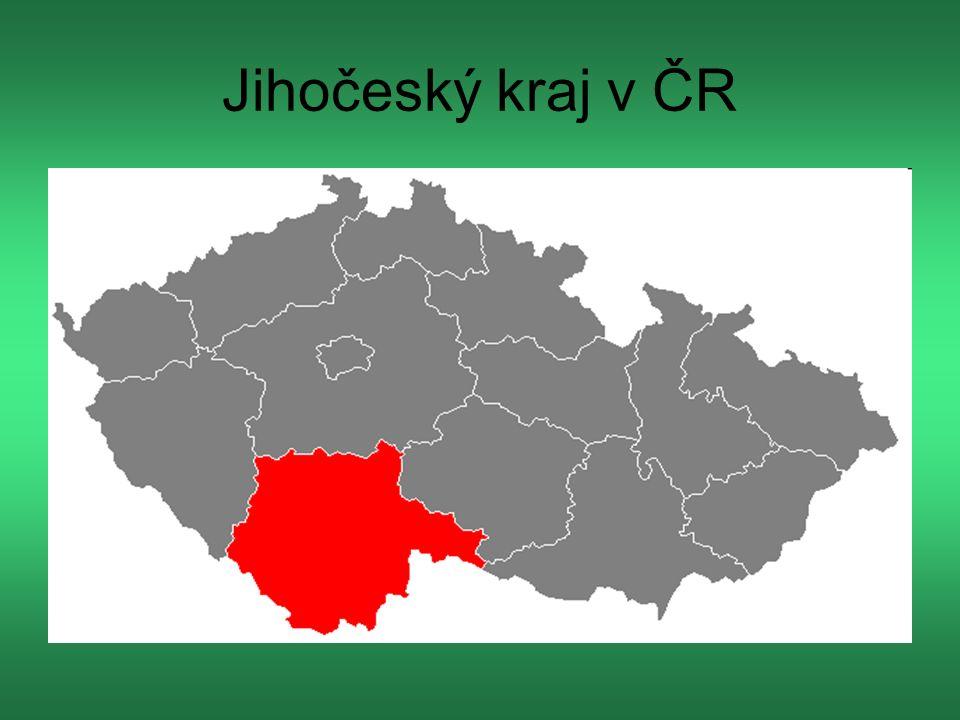 Jihočeský kraj v ČR