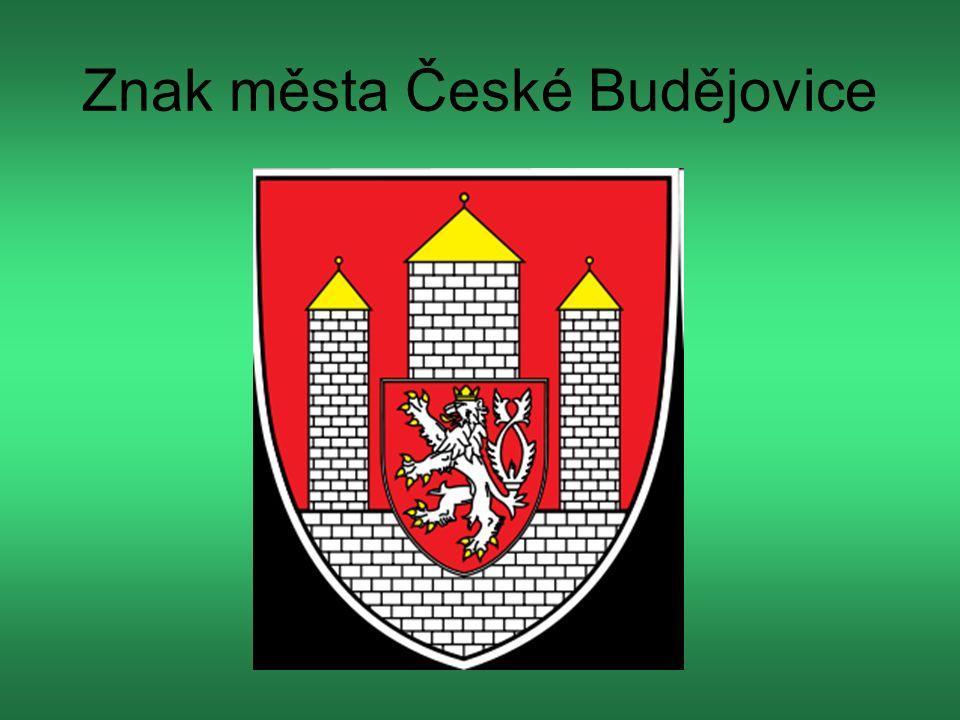 Znak města České Budějovice