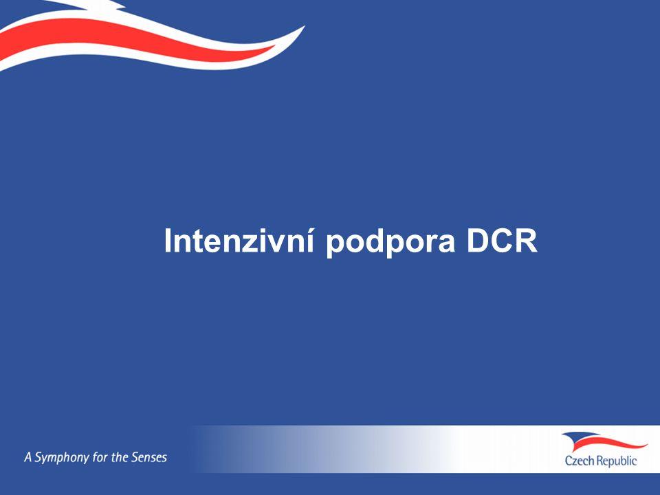 Intenzivní podpora DCR