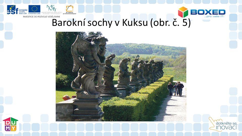 Barokní sochy v Kuksu (obr. č. 5)