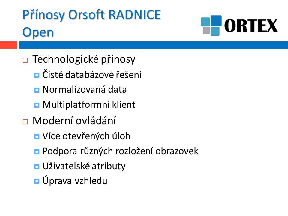 Orsoft Open – Úvodní menu  123456789 123456789 123456789 12345 6789  Abc I ii iii … ---