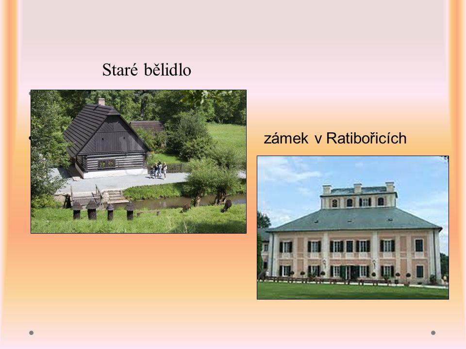 zámek v Ratibořicích Staré bělidlo