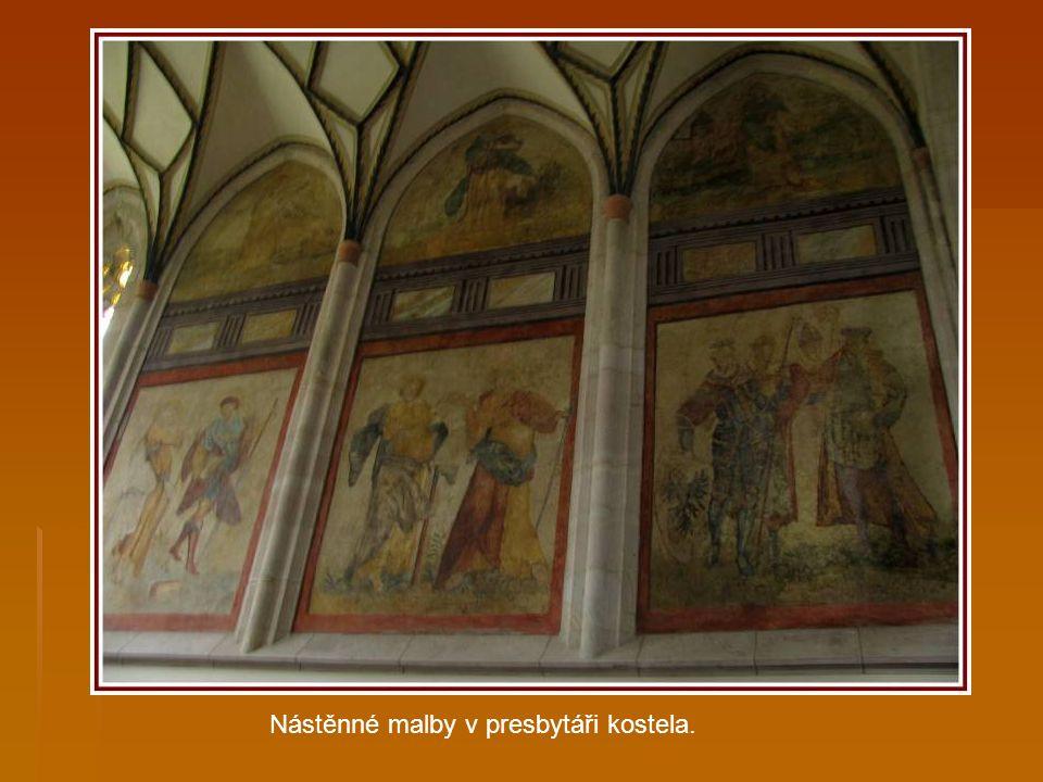 Sv. Václav, Panna Marie s Ježíškem a sv.Ludmila.