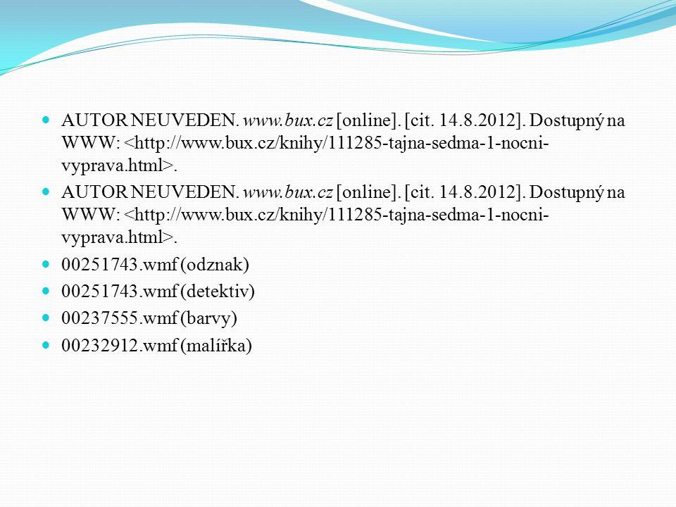 00251743.wmf (odznak) 00251743.wmf (detektiv) 00237555.wmf (barvy) 00232912.wmf (malířka)