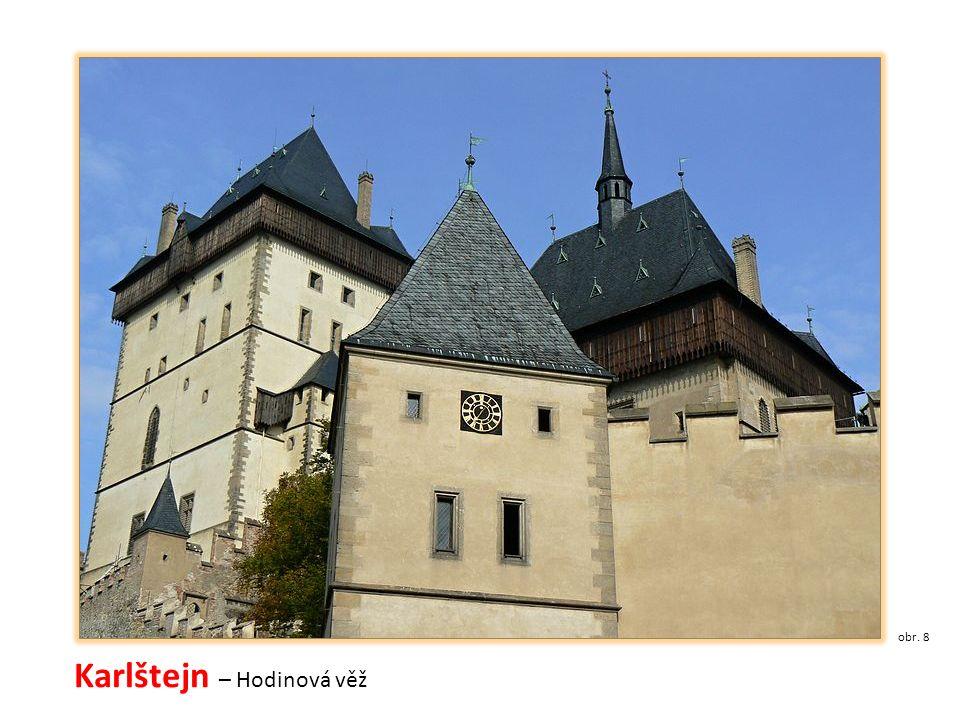 Karlštejn – Hodinová věž obr. 8