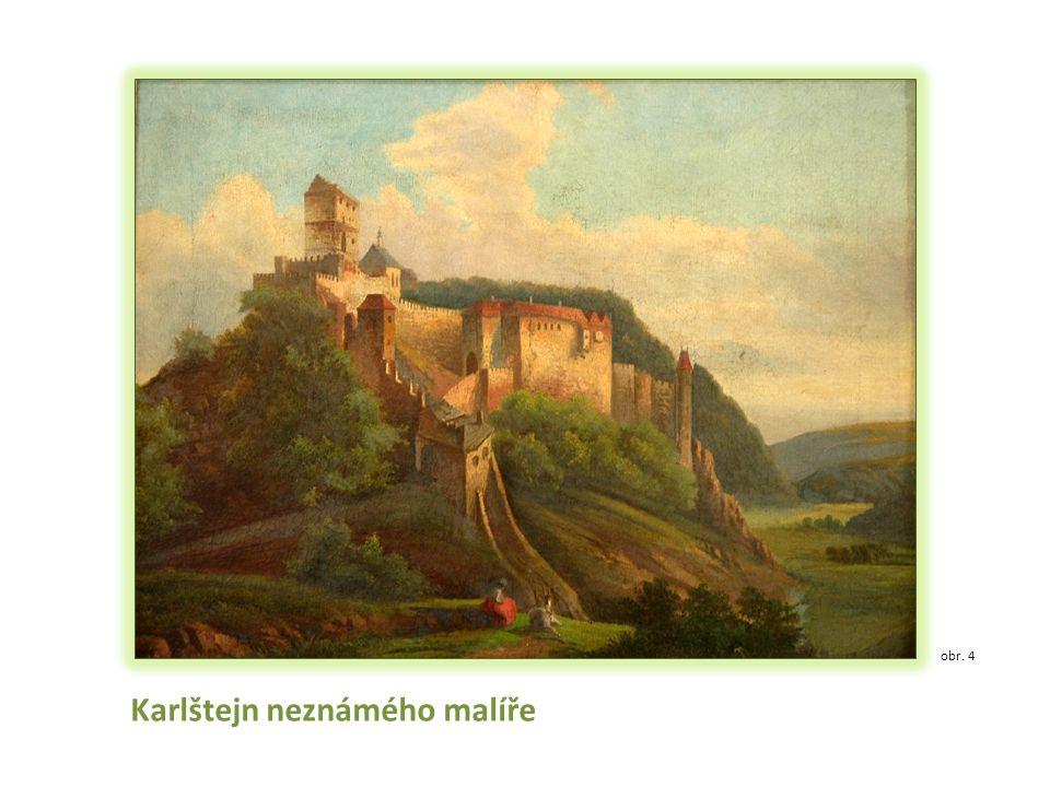 Karlštejn neznámého malíře obr. 4