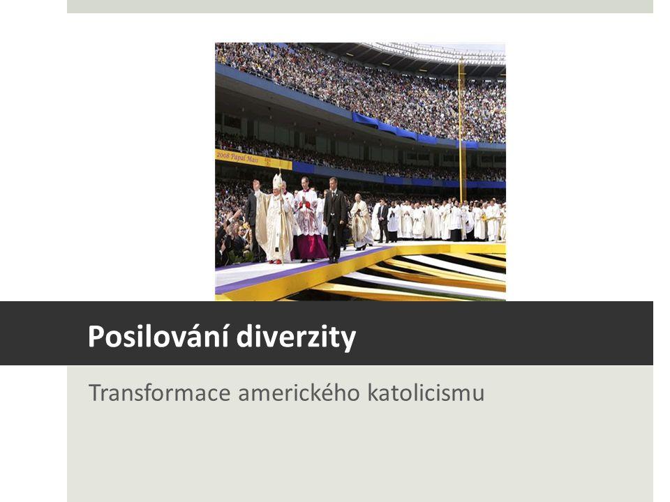 Posilování diverzity Transformace amerického katolicismu