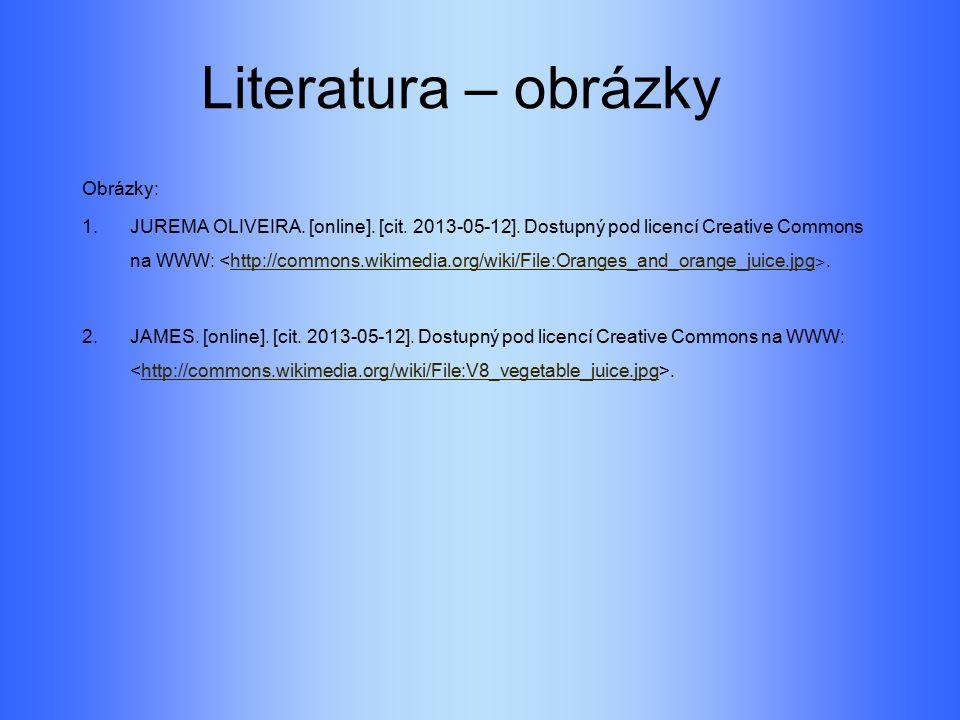 Literatura – obrázky Obrázky: 1. JUREMA OLIVEIRA.