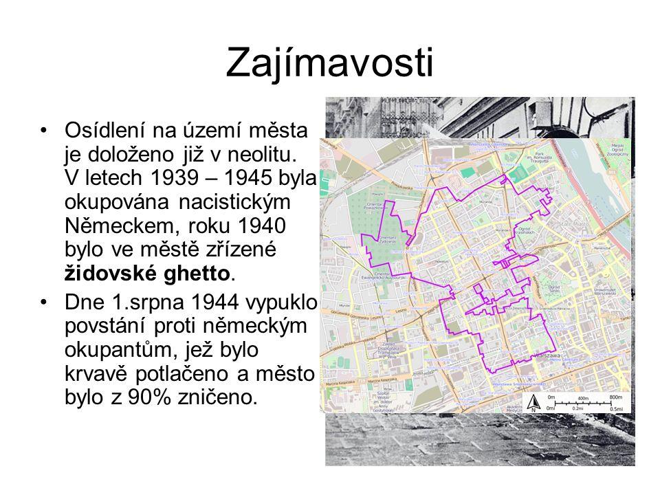Zajímavosti Osídlení na území města je doloženo již v neolitu. V letech 1939 – 1945 byla okupována nacistickým Německem, roku 1940 bylo ve městě zříze
