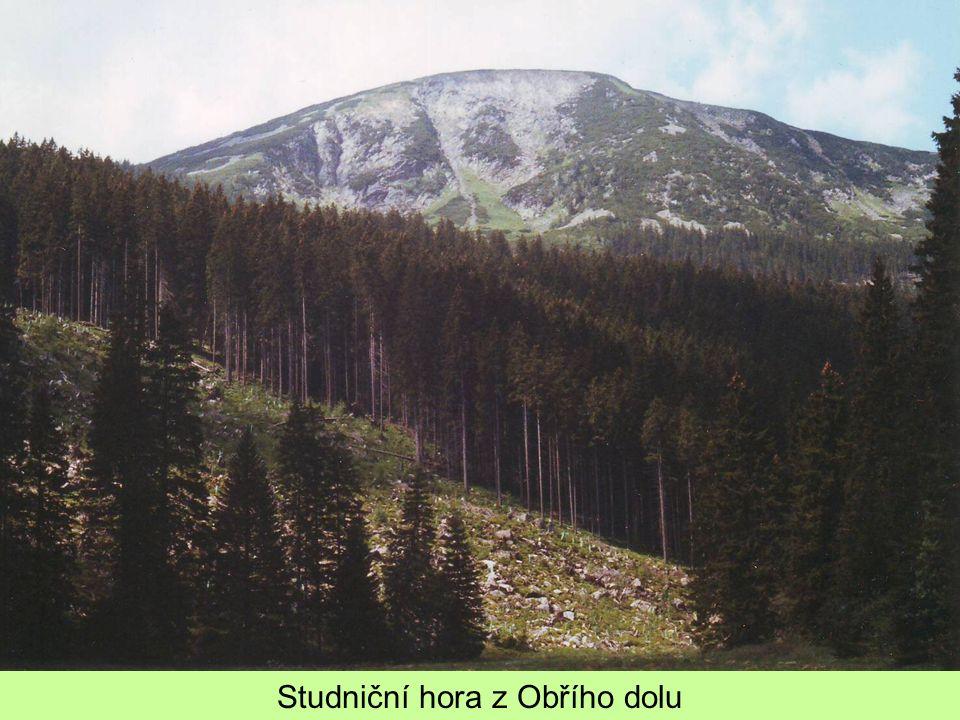 Studniční hora z Obřího dolu
