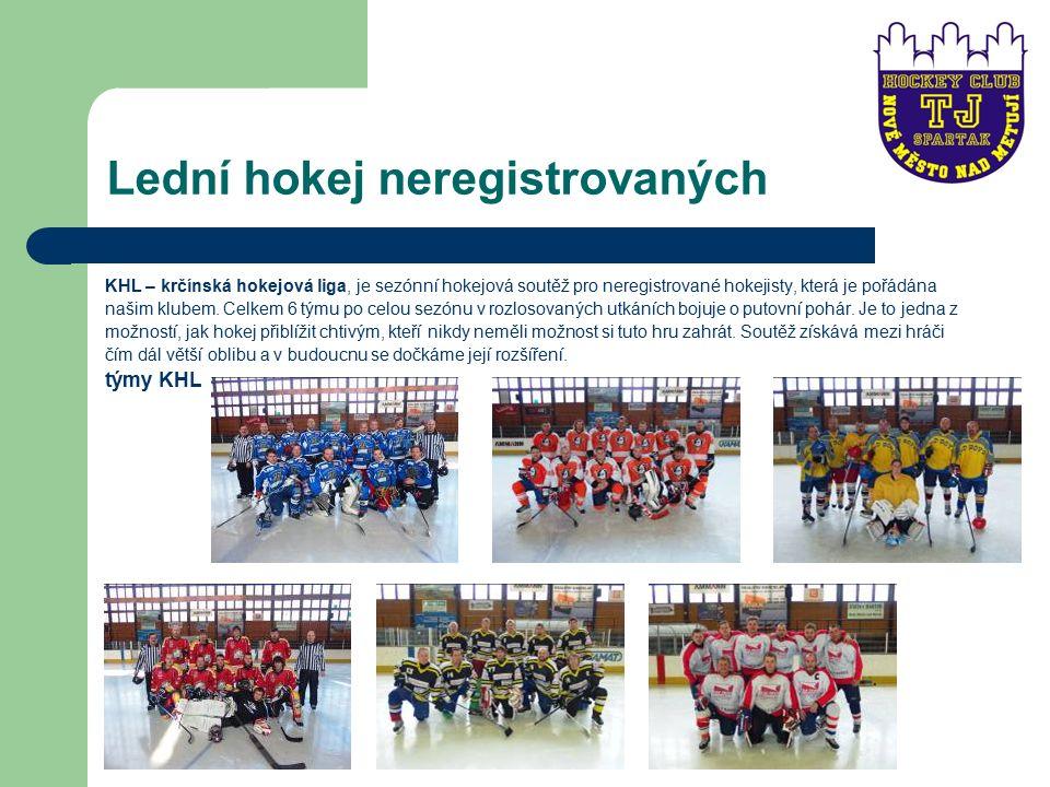 Lední hokej neregistrovaných KHL – krčínská hokejová liga, je sezónní hokejová soutěž pro neregistrované hokejisty, která je pořádána našim klubem.