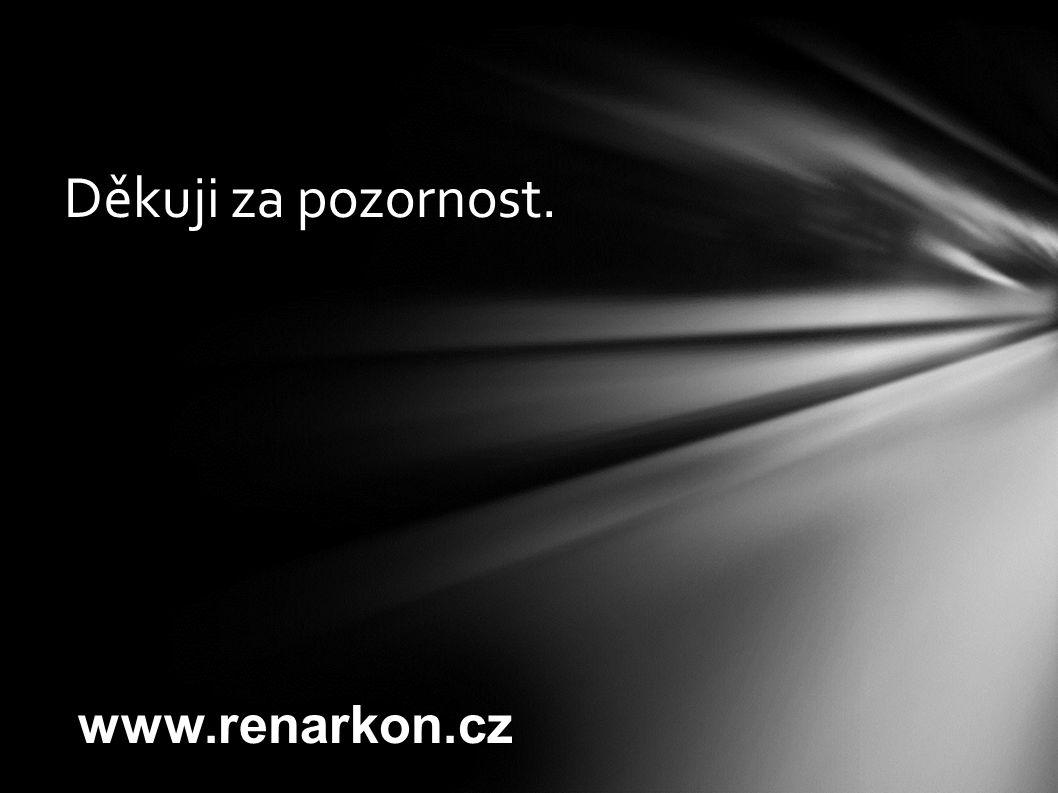 Děkuji za pozornost. www.renarkon.cz