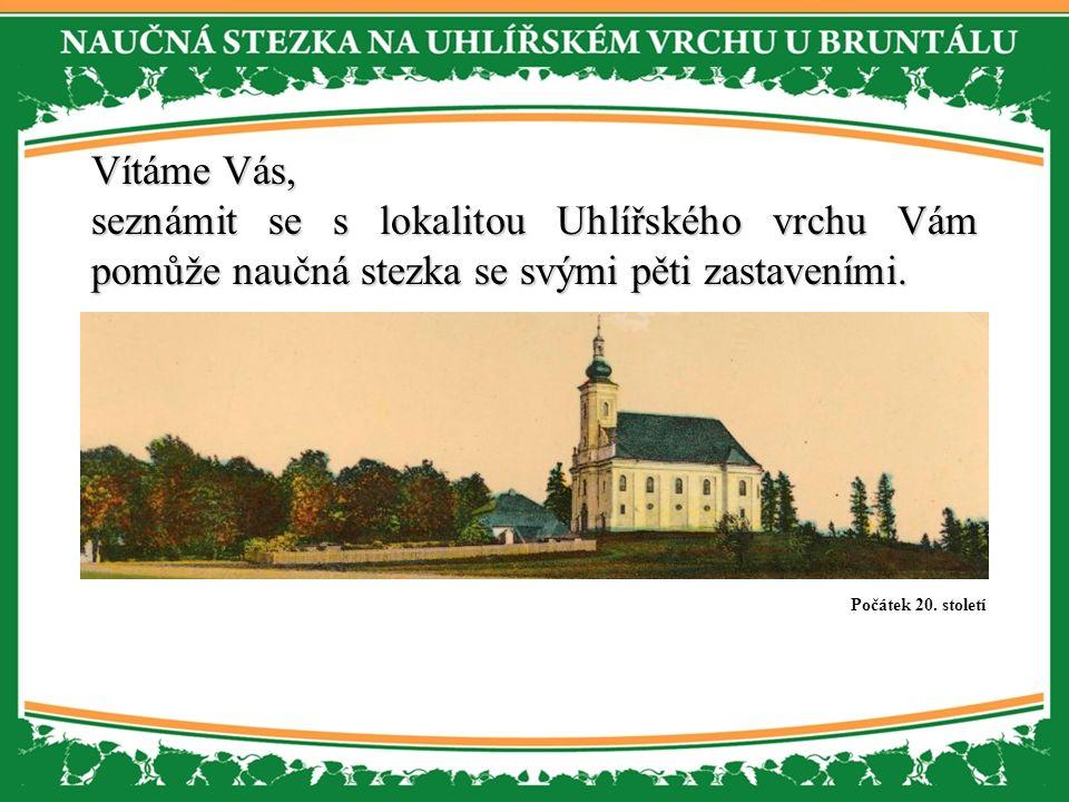 Vítáme Vás, Vítáme Vás, seznámit se s lokalitou Uhlířského vrchu Vám pomůže naučná stezka se svými pěti zastaveními.