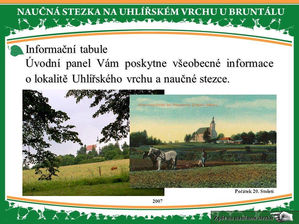 1.zastavení je věnováno historickému vodovodnímu systému, nacházejícímu se pod Uhlířským vrchem.