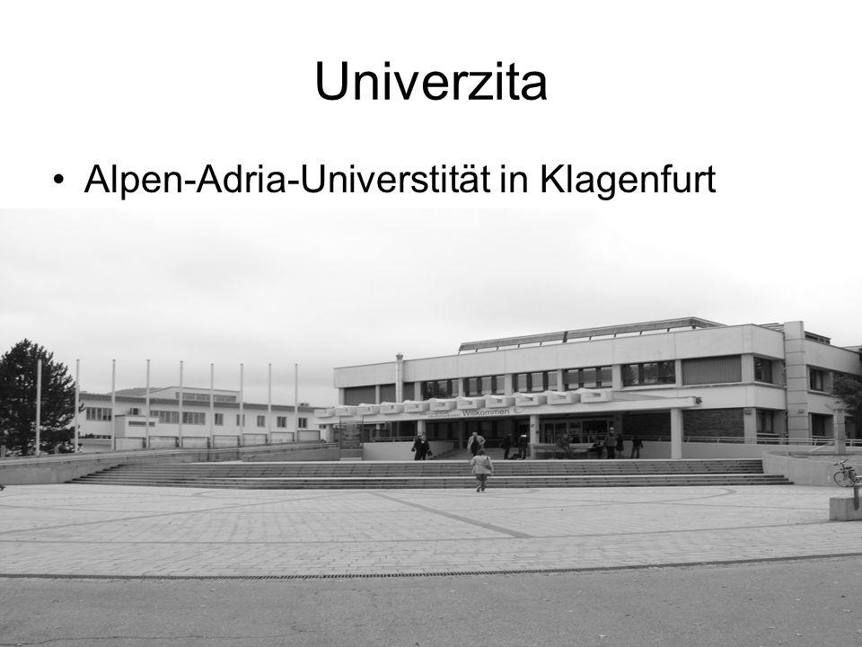 Univerzita Alpen-Adria-Universtität in Klagenfurt