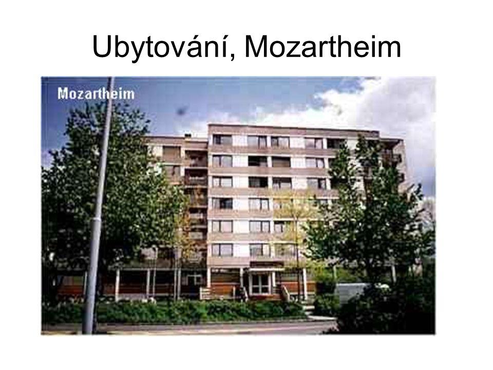 Ubytování, Mozartheim