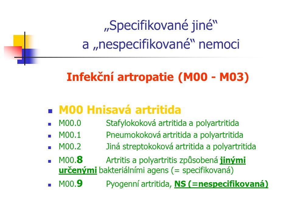 Struktura MKN-10; I. díl – Tabelární seznam Výhodné zapamatovat si: 1 kapitola = 1 písmeno výjimky: D – kapitola 2 a 3 (Nezhoubné nádory; Nemoci krve)