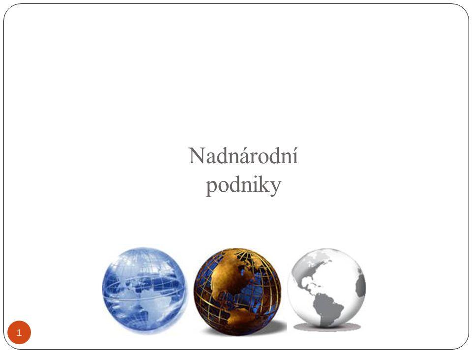 Nadnárodní podniky 1