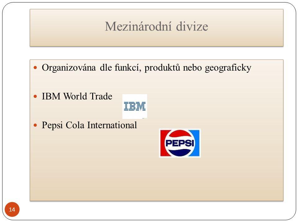 Mezinárodní divize 14