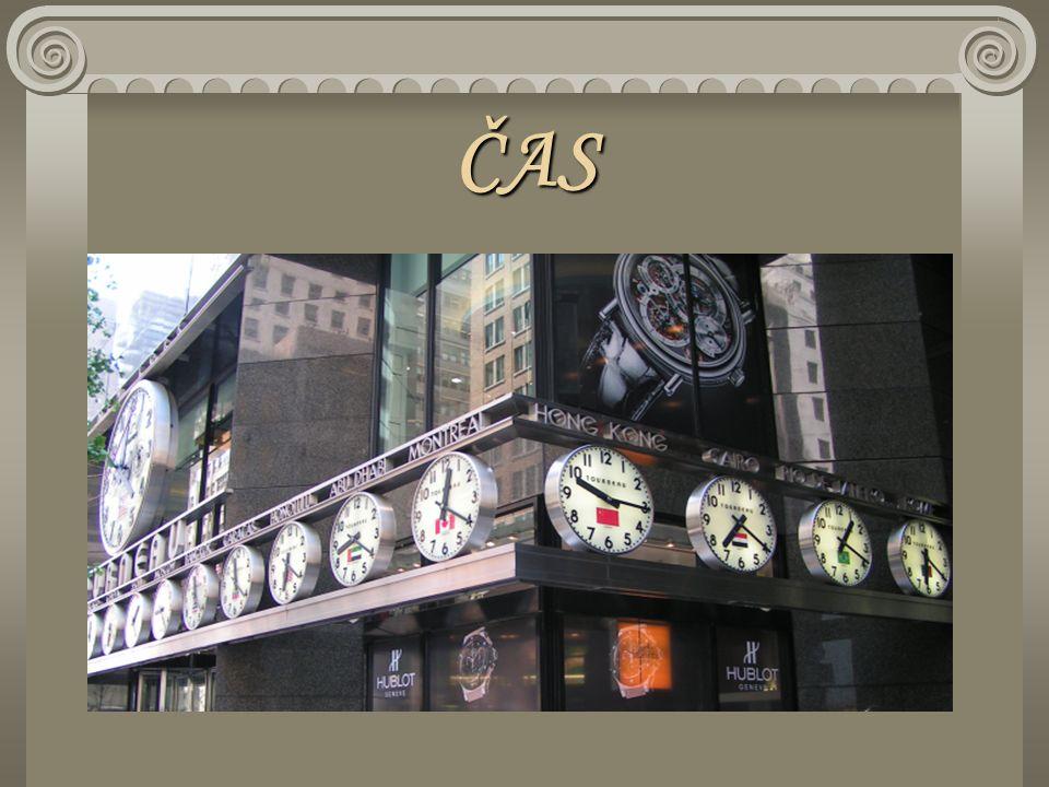 Jednotky času Základní jednotka je 1 sekunda Sekunda – 1s Minuta – 1 min = 60 s Hodina – 1 h = 60 min = 3 600s Den – 1 d= 24 h = 1 440 min = 86 400 s Rok = 365 d