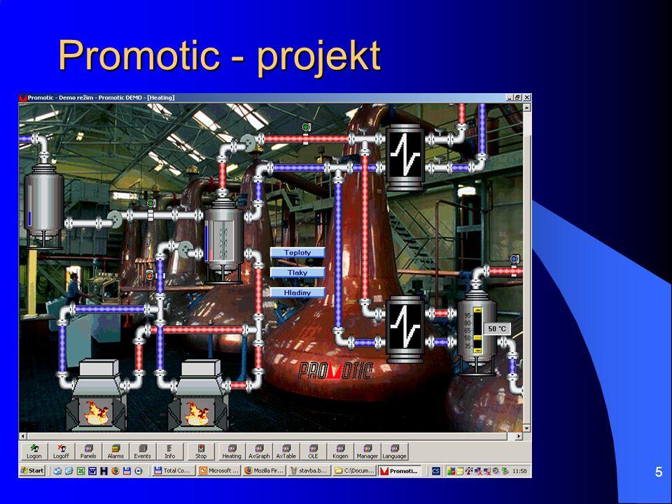 5 Promotic - projekt