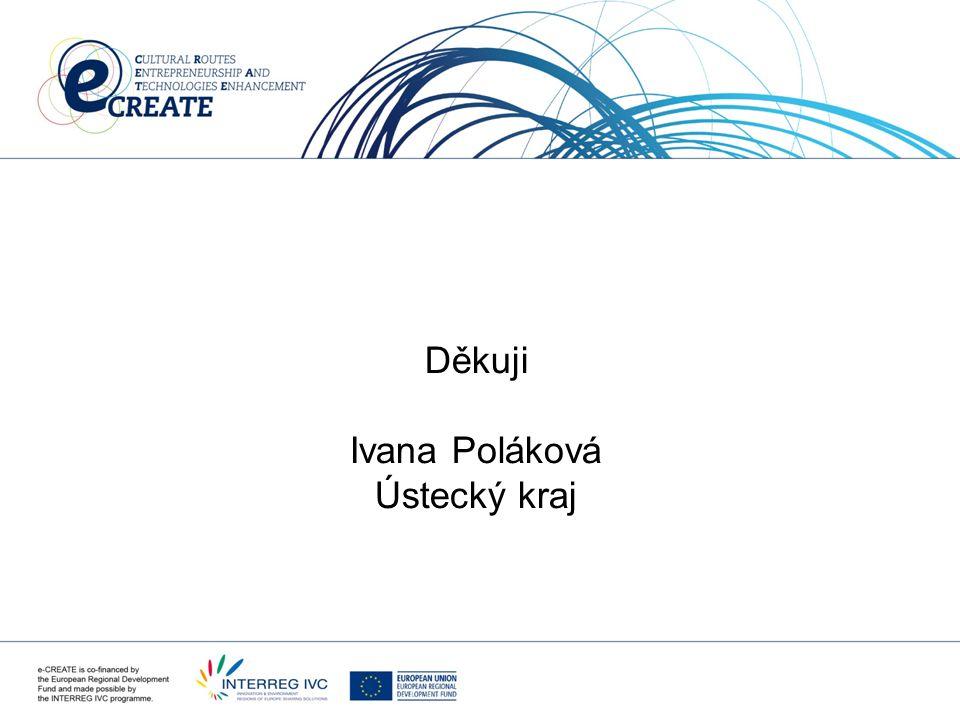 Děkuji Ivana Poláková Ústecký kraj