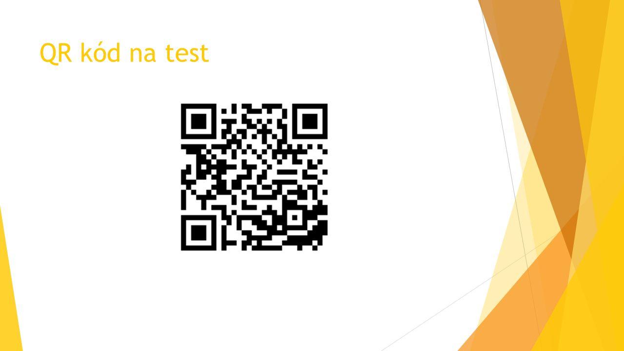 QR kód na test