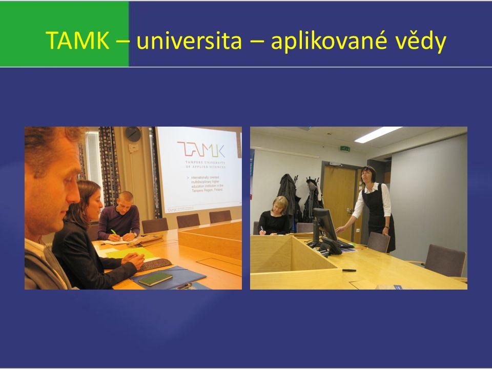 TAMK – universita – aplikované vědy