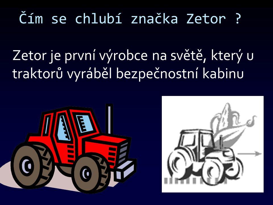 První krůčky společnosti .První prototyp traktoru dokončila továrna 14.