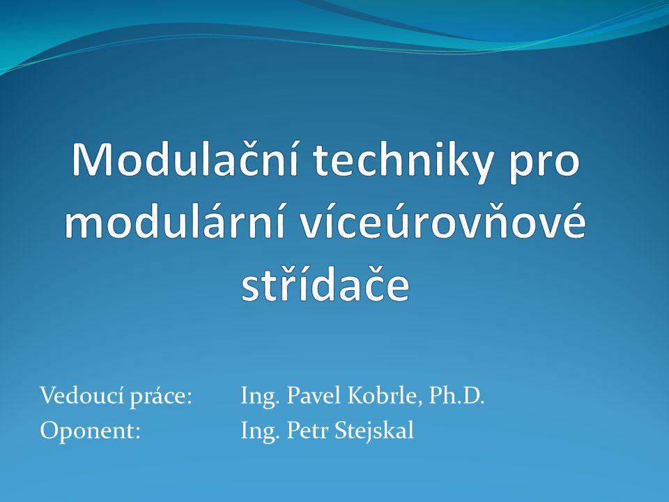 Vedoucí práce: Ing. Pavel Kobrle, Ph.D. Oponent: Ing. Petr Stejskal