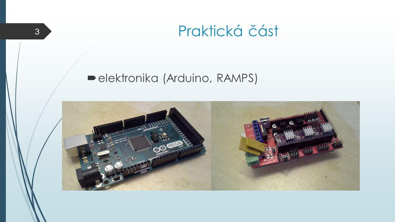 Praktická část  elektronika (Arduino, RAMPS) 3
