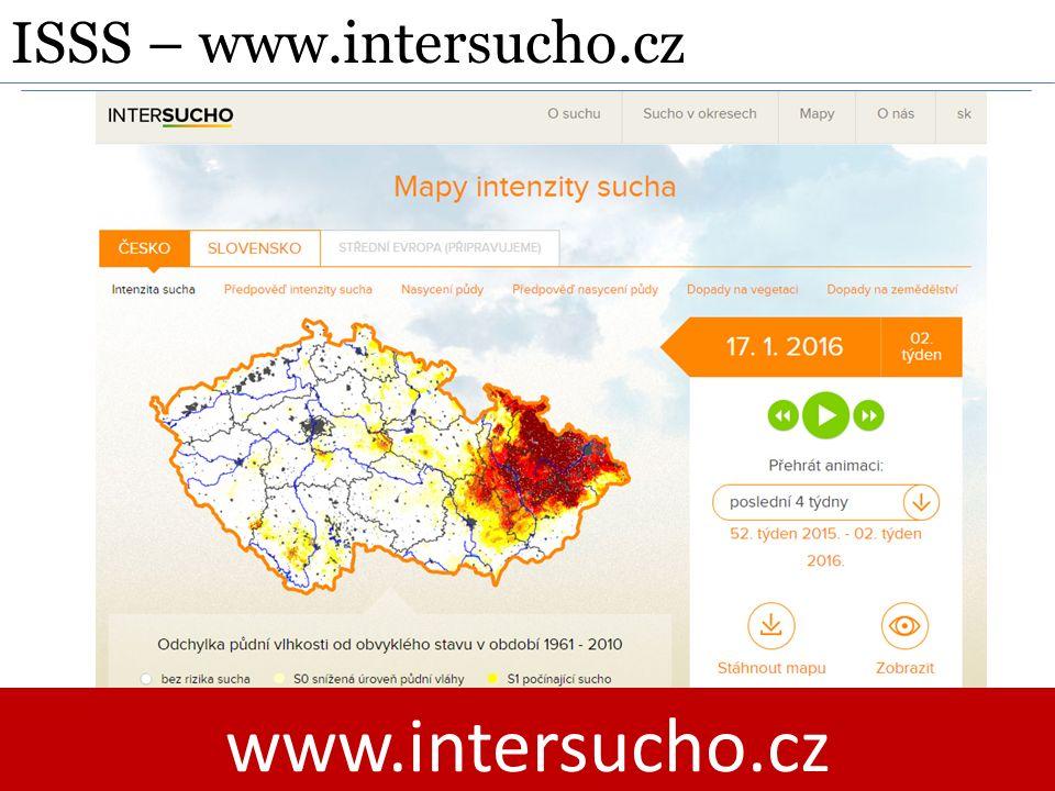 ISSS – www.intersucho.cz www.intersucho.cz