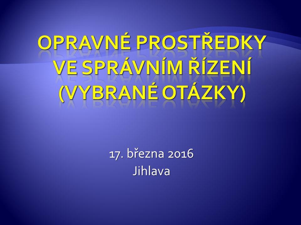 17. března 2016 Jihlava