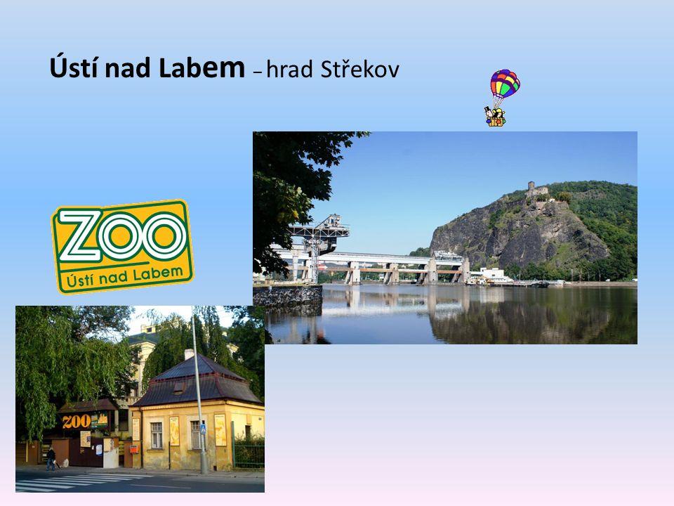 Ústí nad Lab em – hrad Střekov