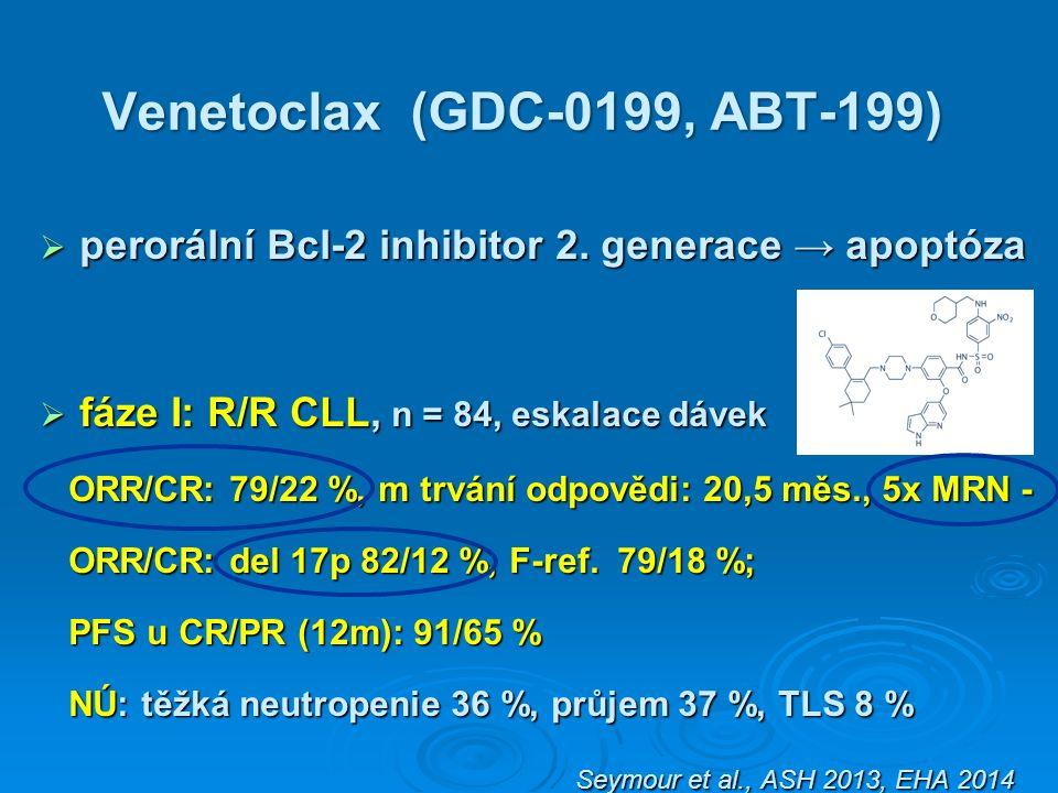 Venetoclax (GDC-0199, ABT-199)  perorální Bcl-2 inhibitor 2.