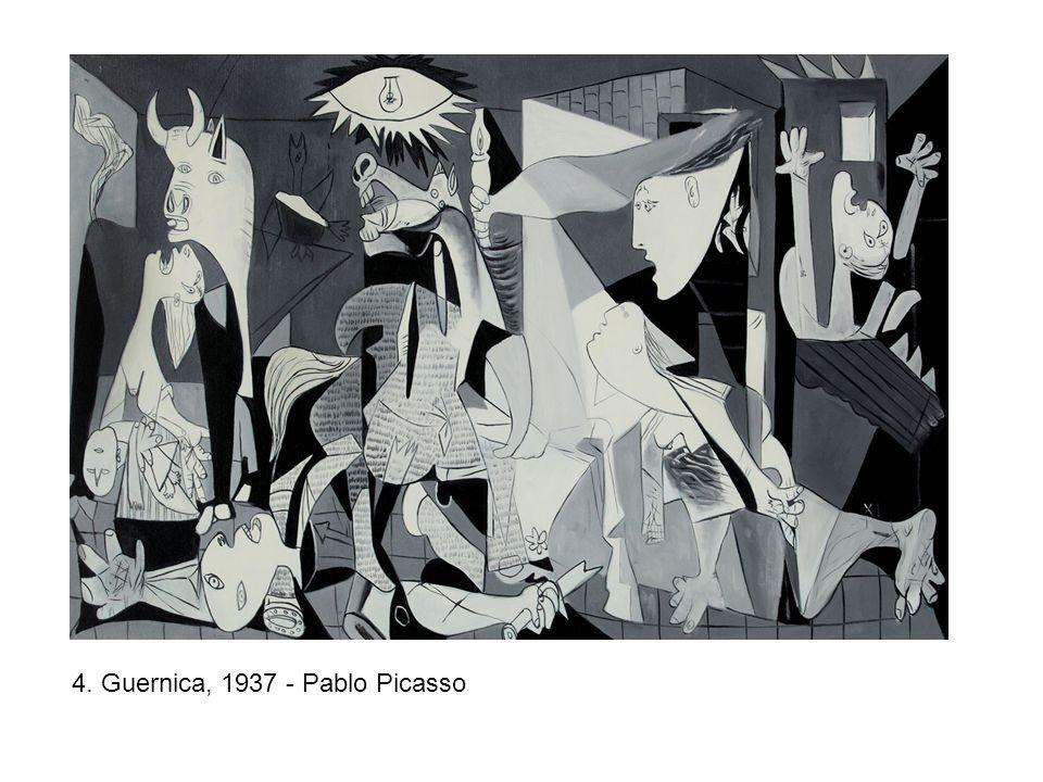 4. Guernica, 1937 - Pablo Picasso
