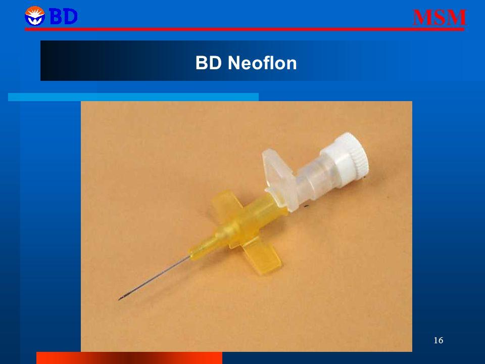 MSM 16 BD Neoflon