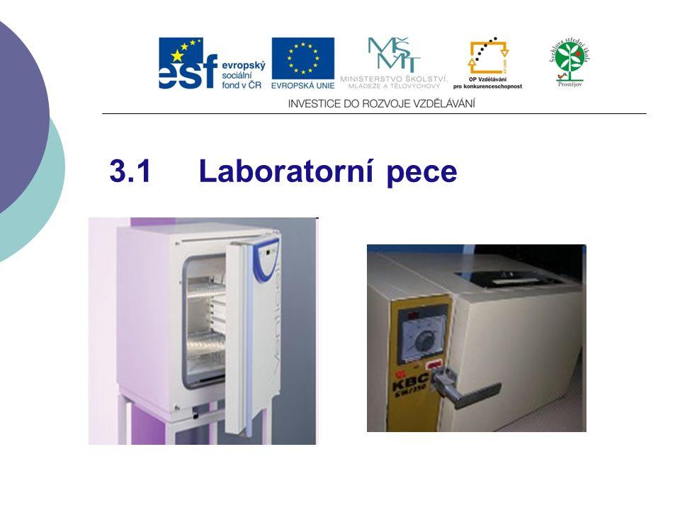 3.1 Laboratorní pece