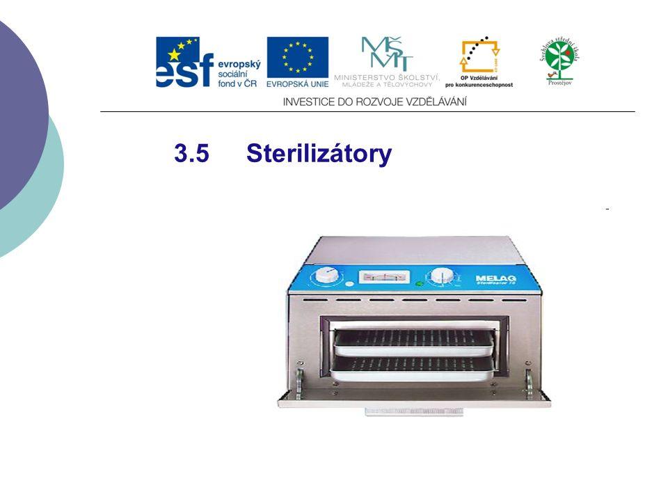 3.5 Sterilizátory