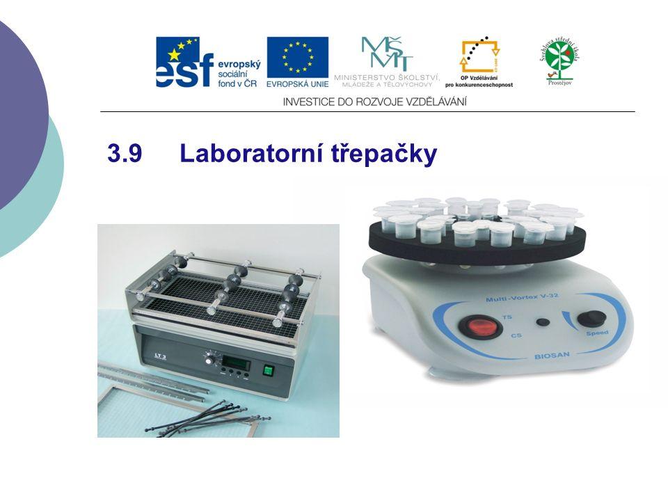 3.9 Laboratorní třepačky