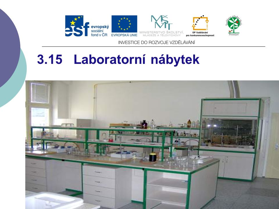 3.15 Laboratorní nábytek