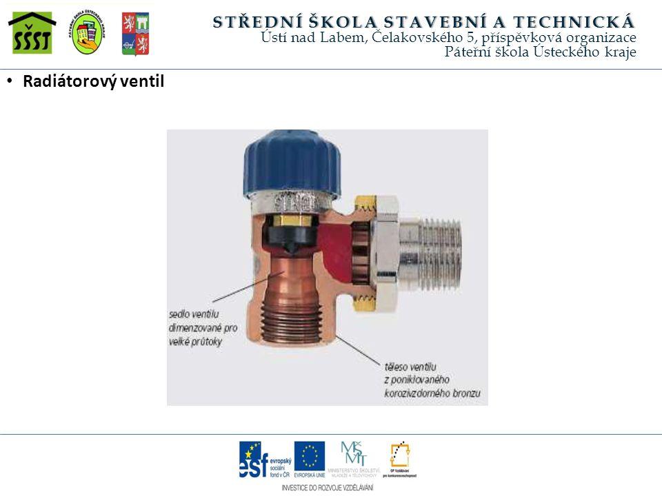 Radiátorový ventil